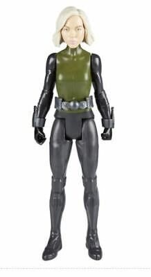 Marvel Avengers Black Widow Infinity War Titan Hero Power FX Series Hasbro New