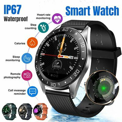 Men Women IP67 Sports Smart Watch Heart Rate Blood Pressure for iOS Android UK