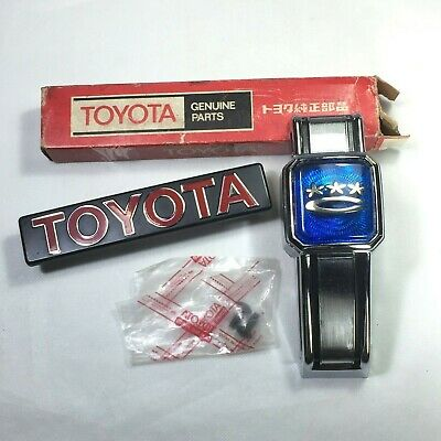 REAR TOYOTA EMBLEM TRUNK BADGE COROLLA KE30 KE35 KE36 TE31 KE55