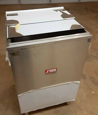 Sitco Ice Bin, Insulated Bar Soda Ice Chest Stainless Steel, NSF