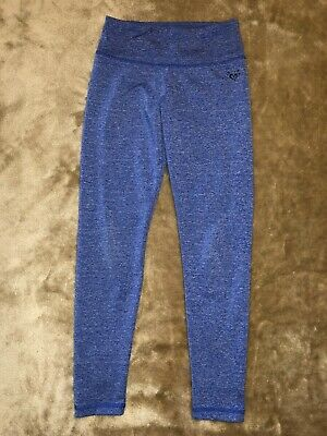 Justice Athletic Pants Leggings Girls Size 8 Blue
