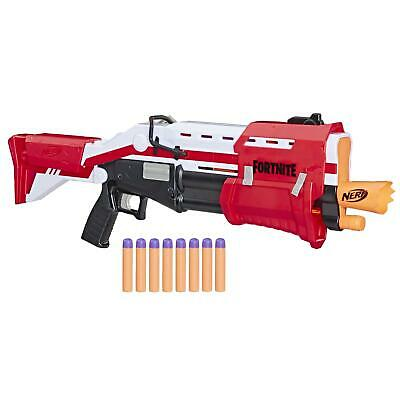 Nerf Fortnite TS Blaster Pump Action Dart Blaster and 8 Mega Fortnite Darts