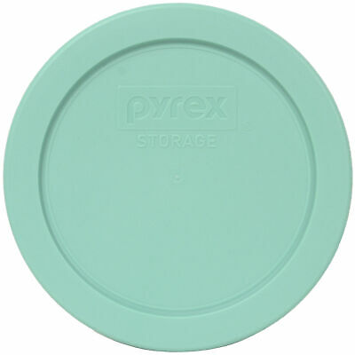 Pyrex 7200-PC Sea Glass Blue/Green Plastic Round Replacement Lid