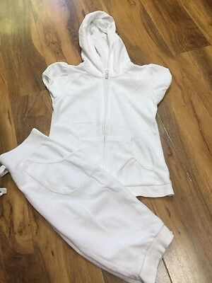 Girls 3/4 Length Tracksuit Aged 9/10 Years Old (140)