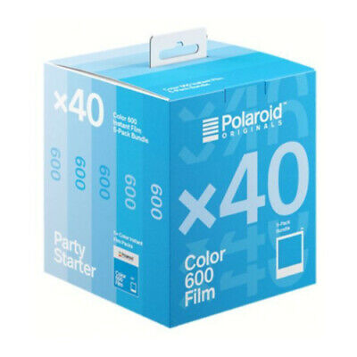 Polaroid Originals Instant Classic Color Film for 600 Cameras (40 Exposures)