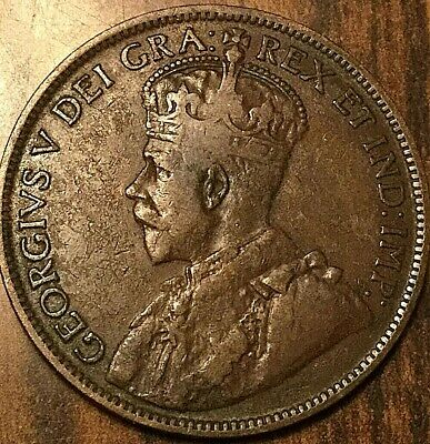 1916 Canada Large Cent Penny Large 1 Cent Coin