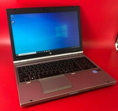 HP EliteBook 8570p Intel Core i5-3230m, 2.6Ghz, 8GB RAM, 320GB HDD