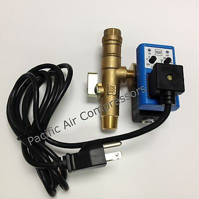 Equivlaent #32499964 , NTEMCDV-25-120ADK Timed Electric Condensate Drain Valve