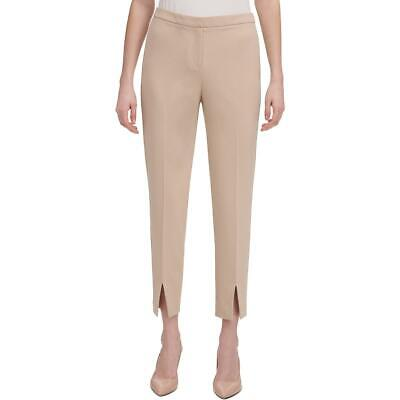 Calvin Klein Womens Tan Ankle Business Skinny Pants Trousers 10 BHFO 5365