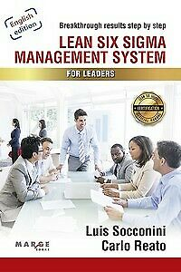 Lean Six Sigma Management System for Leaders. NUEVO. Envío URGENTE (IMOSVER)