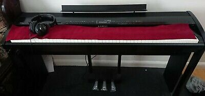 Kawai ES-8 Digital Piano with wooden stand, wooden stool and headphones