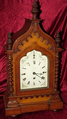 Stunning Quality 9 Bell Triple Fusee Gothic Bracket Clock