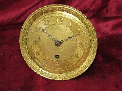Early English Fusee Chain, Clock Movement & Dial