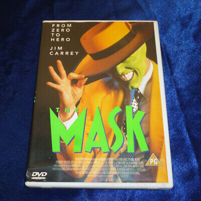 The Mask (DVD 1999) Jim Carrey Cameron Diaz - Complete Working
