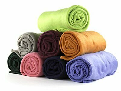 "Imperial Home 24 Pack Wholesale Soft Cozy Fleece Blankets - 50"" x 60"" Comfy Thro"