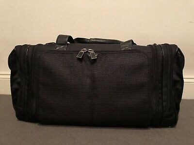 Johnston & Murphy Weekender Black Duffel Bag