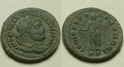 Rare Genuine ancient Roman coin Diocletian, Jupiter, Victory, Antoninianus 293AD