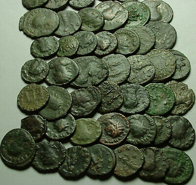 Lot of 3 original Ancient Roman Antoninianus coins Probus, Aurelian, Claudius