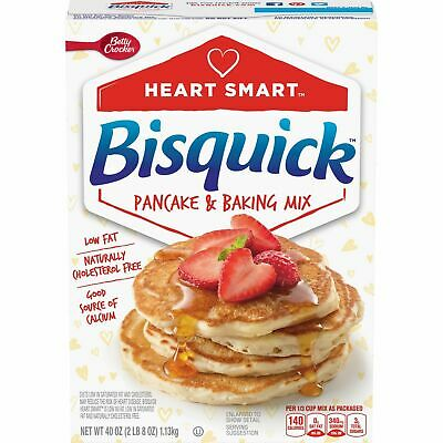 Betty Crocker Bisquick Heart Smart Pancake & Baking Mix 40oz/1.13kg