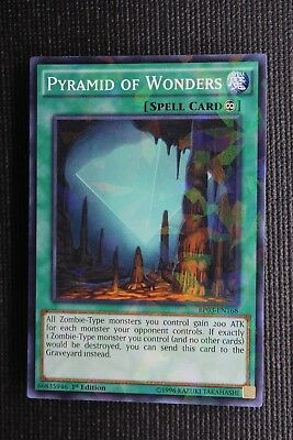 Yu-Gi-Oh Card TSHD-EN051 PYRAMID OF WONDERS - NM//Mint rare