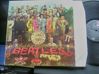 Beatles/Sgt Pepper's Lonely Hearts Club Band.French Parlophone 2 Box Stereo LP.