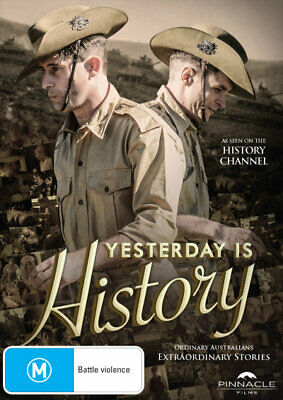 Yesterday is History  - DVD - NEW Region 4