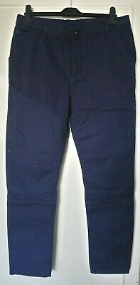 boys blue trousers age 13-14