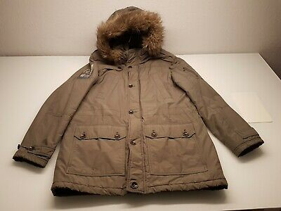 TOM TAILOR HERREN Parka Jacke Mantel NEU Super 113€ XL Grün