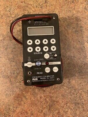 RiS CL-2241 AccuPro Frequency Calibrator