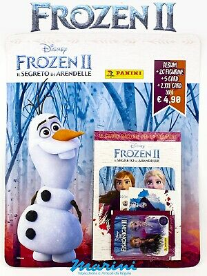 Frozen 2 Il Segreto Di Arendelle Album +20 Figurine Stickers +5 Cards 2 Xxl 2020