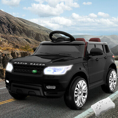 NEW 50W Twin Motor Rigo Range Rover Inspired Kids Ride On Car Black, For Ages 3+