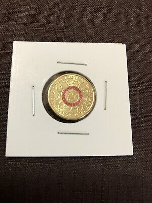 """2016 Olympic $2 Coin Australian Two Dollars """" RED Ring """"  Circulated"""
