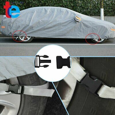 Size 3L Full Car Cover Waterproof Scratch UV Dust Snow Resistant Breathable