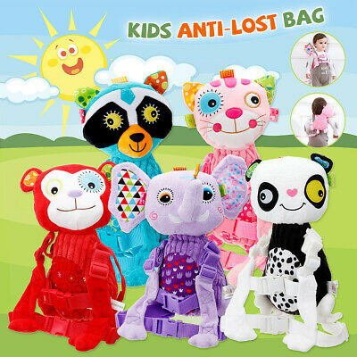 Kids Baby Safety Harness Backpack Anti-lost Bag Buddy Toddler Walking Doll