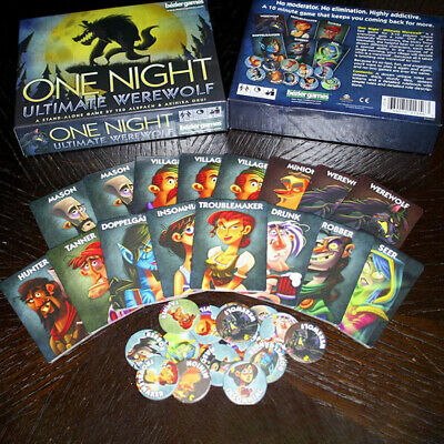 One Night Ultimate Werewolf 10 Min Card Game Gifts Party Toys - Bezier Games