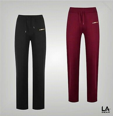 Ladies LA Gear Drawstring Lightweight Jogging Pants Sizes from 8 to 18