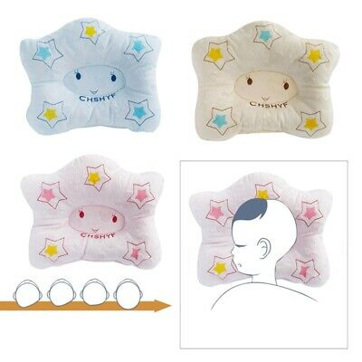 Baby Infant Pillow Newborn Anti Flat Head Syndrome for Crib Cot Bed Neck Stylish