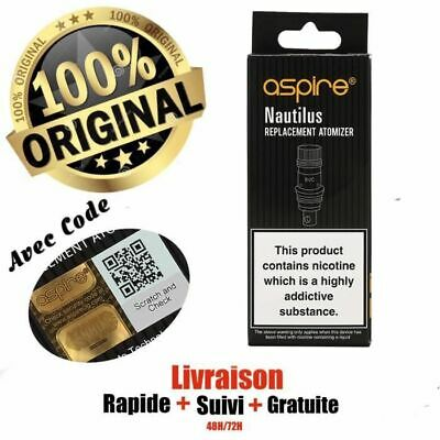 Genuine Aspire Nautilus /Mini BVC Replacement Coils (0.7 /1.6 / 1.8Ohm) (5 Pack)