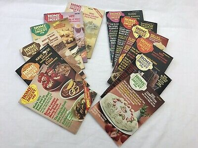 Home and Freezer Digest 1977 Complete Year - 12 issues