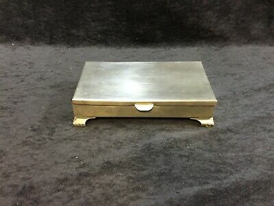 Colonial Pewter by Boardman # 1 Jewelry Or Trinket Box (rare)