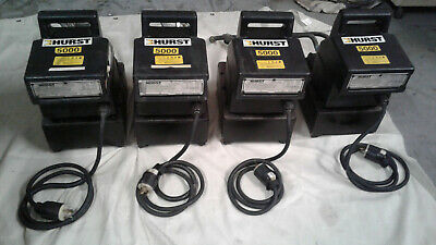 4 Hurst Electric Pumps for Jaws of Life Equipment