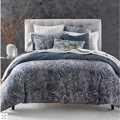 Oake Bedding Segment TWIN Duvet Cover WHITE MSRP $245 Y1121