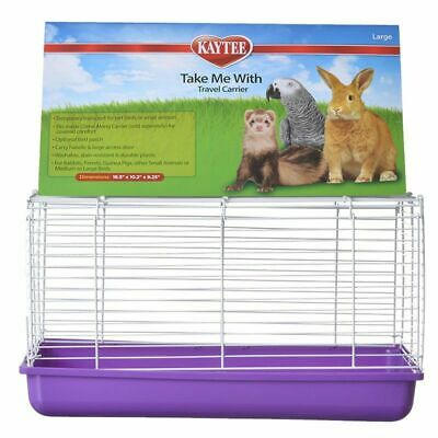 LM Kaytee Take Me With Travel Center for Small Pets Large