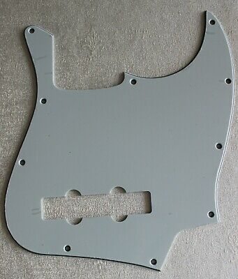 *NEW Dark Brown Tortoise PICKGUARD for Fender Jazz Bass 3 Ply Standard 10 Hole
