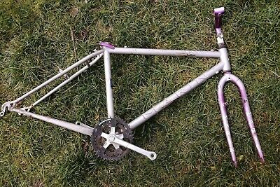 Sherpa Dorado Vintage Mountain Bike Frame 1988 Tange Prestige Damaged US Charity