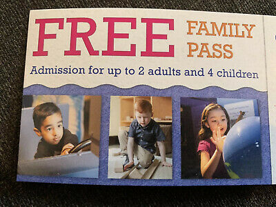 London (Ontario) Childrens Museum Family Pass 2 Adults 4 Children $54 Value