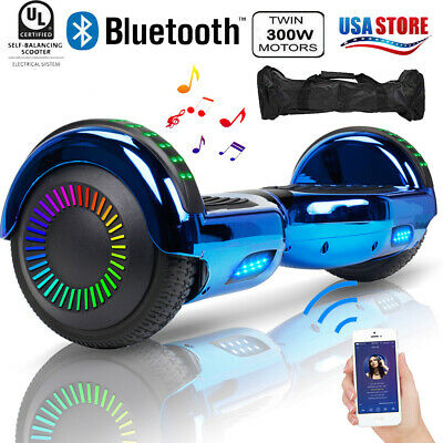 """6.5"""" Hoverboard Bluetooth 2Wheel Electric Self Balance Scooter with Bag Chrismas"""