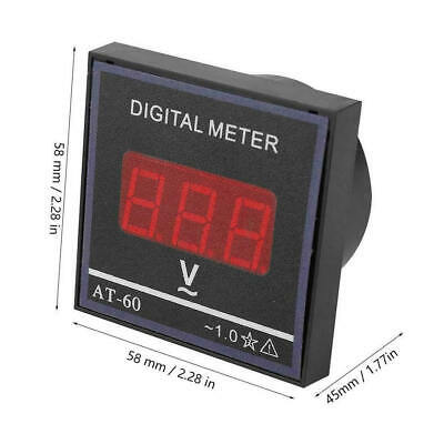High Precision DC Digital Voltmeter LCD Display Voltage Meter AC 0-500V