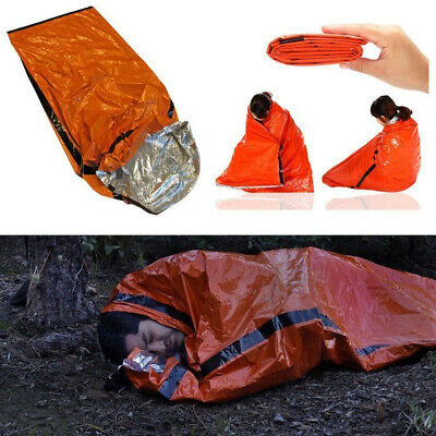 200 * 91cm Foil Thermal Space First Aid Emergency Survival Sleeping Bag Blanket