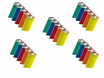 Bic Classic Full Size Lighter Maxi Full Size 5 Pack, (Set of 5)